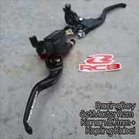 Racingboy - RCB 1 Set Master Rem Kanan 12,7mm + Master Kopling Kabel