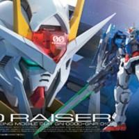 Bandai Original RG 1/144 real grade Gundam 00 oo raiser riser