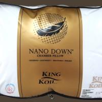 Bantal Kepala Nano Down King Koil / KINGKOIL (Bulu Angsa + Nano Fiber)
