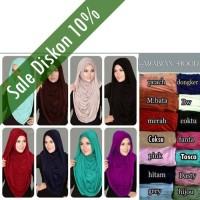 Hijab Instant Arabian Hoodie (Versi Premium) Termurah