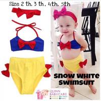 Baju renang anak bayi / swimsuit Bikini Snow White