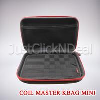 Authentic Coil Master Kbag Mini Tas Vape Vapor Kit Tools