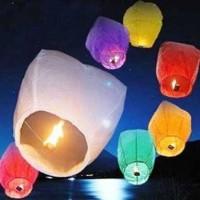 LAMPION KERTAS TERBANG MURAH FLYING LANTERN FESTIVAL