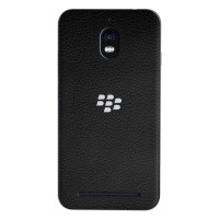 J-Skin Premium Skin untuk Case Blackberry Aurora - 3M Black Leather
