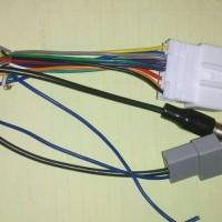 Soket Audio Head Unit PNP Plug And Play NISSAN + Kabel Antena