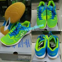 Sepatu Badminton Yonex SHB 03 EX Blue/Lime -Original