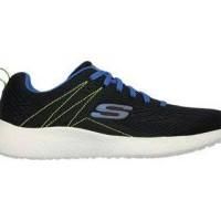 sepatu lari running gym fitness sneakers skechers black shoes Original
