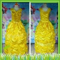 Kostum Princess Belle Dewasa/Baju pesta ulang tahun