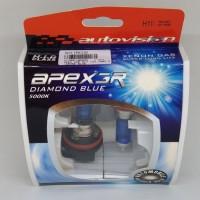 BOHLAM LAMPU MOBIL Autovision APEX3R DIAMOND BLUE H11 12V 100W 5000K