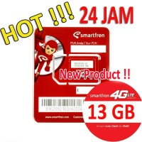 Perdana Smartfren 4g 13GB bukan 65gb/ 30gb FOR mifi m3s,m3z,m3y, dll