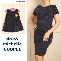 baju couple | dress michelle | baju kembar
