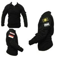 combat shirt - baju kaos velcro - baju kaos tactical