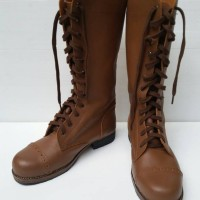Sepatu Boots US Army Airborne WW2 Kulit