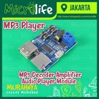 MP3 Format Decoder Amplifier Board Audio Player Module