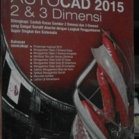 AUTOCAD 2015 2 & 3 Dimensi