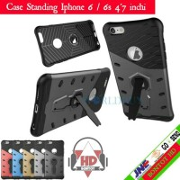 Hardcase Slim Case Armor Softcase Casing Kick Stand For Iphone 6 / 6s