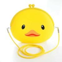 Silica single shoulder bag jelly mobile phone bag / Sling Bag