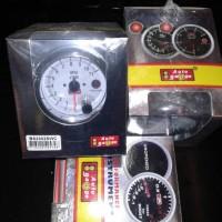 RPM auto gauge 3 3/4in performane plus lampu