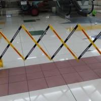 portable barrier gate security road pembatas jalan