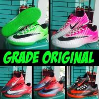 Sepatu Futsal Nike Elastico Superfly Hitam Pink