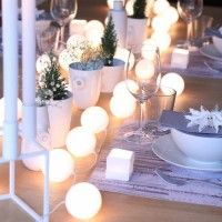 Cotton Ball Light White Tumblr Lamp Lampu Hias Kamar