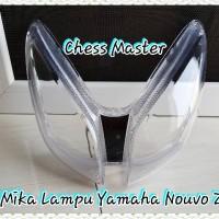Kaca/Mika Lampu Depan Yamaha Nouvo Z