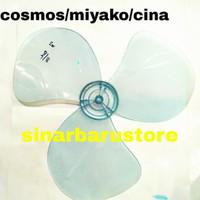 BALING KIPAS ANGIN COSMOS/MIYAKO/CHINA PLASTIK 16 INCHI