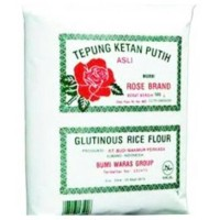 Tepung Ketan Putih Rose Brand 500gr(1 dus*20psc) Via gojek
