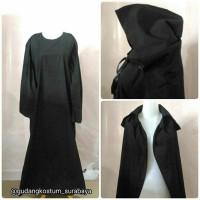Sewa kostum jubah baju hitam penyihir