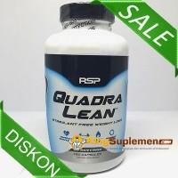 RSP QuadraLean 150 caps (Botol Putih) - kapsul quadra lean fat burn