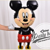 balon foil mickey mouse jumbo / balon mickey mouse jumbo / balon foil