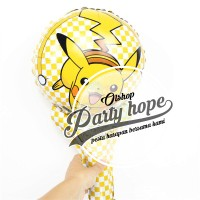 Balon pentung pokemon / balon pokemon / balon foil pukul / balon stick