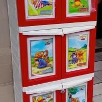 Napolly BCBC 163 WPFD Lemari Plastik 3 Susun 6 Pintu Winnie T Pooh DIY