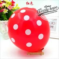balon latex polkadot merah / balon polkadot merah / balon polka dot