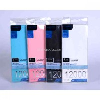 Power Bank VIVER 12000mAh | Ultra-Thin Wallet | Authentic