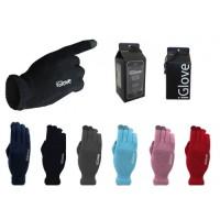 Sarung Tangan Layar Sentuh / Touch Screen iGlove Hp dan Tablet - Biru Muda