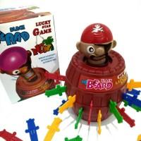 Pirate Roulette (Big Size)   Game Tusuk Bajak Laut   Mainan Anak