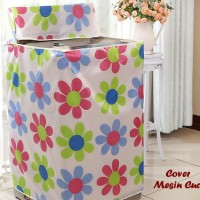 Cover Mesin Cuci - Sarung Mesin Cuci - Penutup Mesin Cuci Bukaan Atas