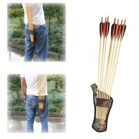 Bow Arrow Holder Belt Quiver Tube Strap Hunting Archery