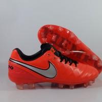Sepatu Bola Nike Tiempo Legend 6 Red Replika Import