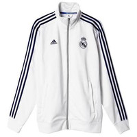 Adidas Real Madrid 3S Track Top Jacket White Original
