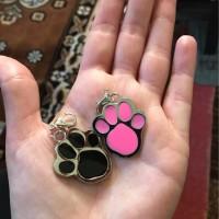 Bandul / liontin Paw untuk Kalung Anjing dan Kucing