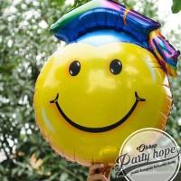 Balon Foil Graduation Smile/ Balon Wisuda Smile/Balon Graduation Jumbo