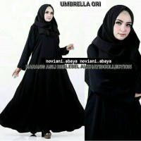 Abaya Polos Ori Import Saudi Alkhatib Collection