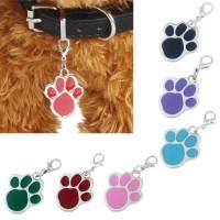 Bandul / liontin paw nama untuk Kalung Anjing dan Kucing