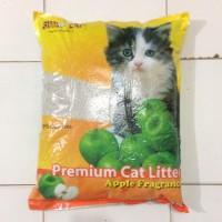 Apple pasir kucing wangi gumpal sumo 10 l 10lt 10 lt 10litter 10 liter