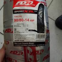 Paket Ban Tubeless FDR 90/80-14 dan 100/80-14 Sport Xr Evo
