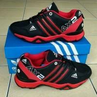 Sepatu Pria Adidas Ax2 hitam Merah / Running / Tracking / Outdoor