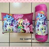 Paket Bantal Guling Pony Poni (1 set dapat bantal dan guling)