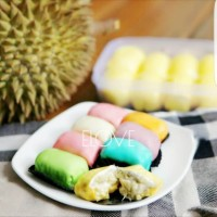 pancake durian mini isi 8 rainbow